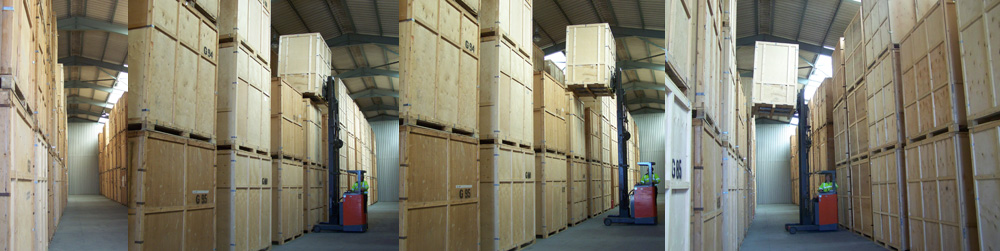 Extensive storage before, during or after removal