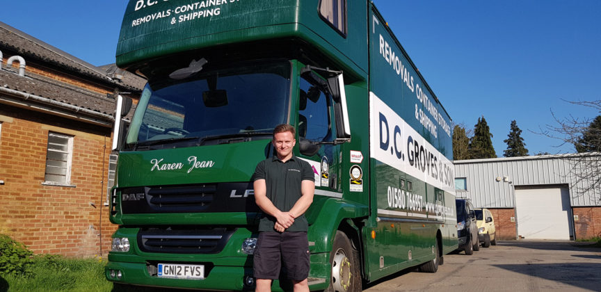 Andy Thomson qualifies as HGV
